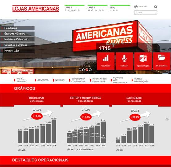 Lojas Americanas - Relações com Investidores